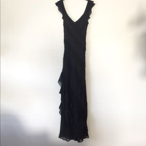 Dresses & Skirts - Flowy Gown v-neck with bead detail